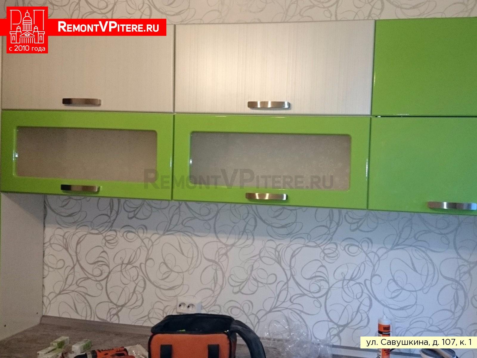Ремонт кухни в Приморском районе