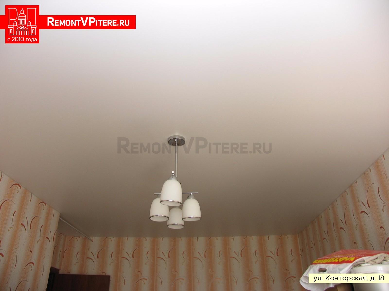 Натяжной потолок в Красногвардейском районе