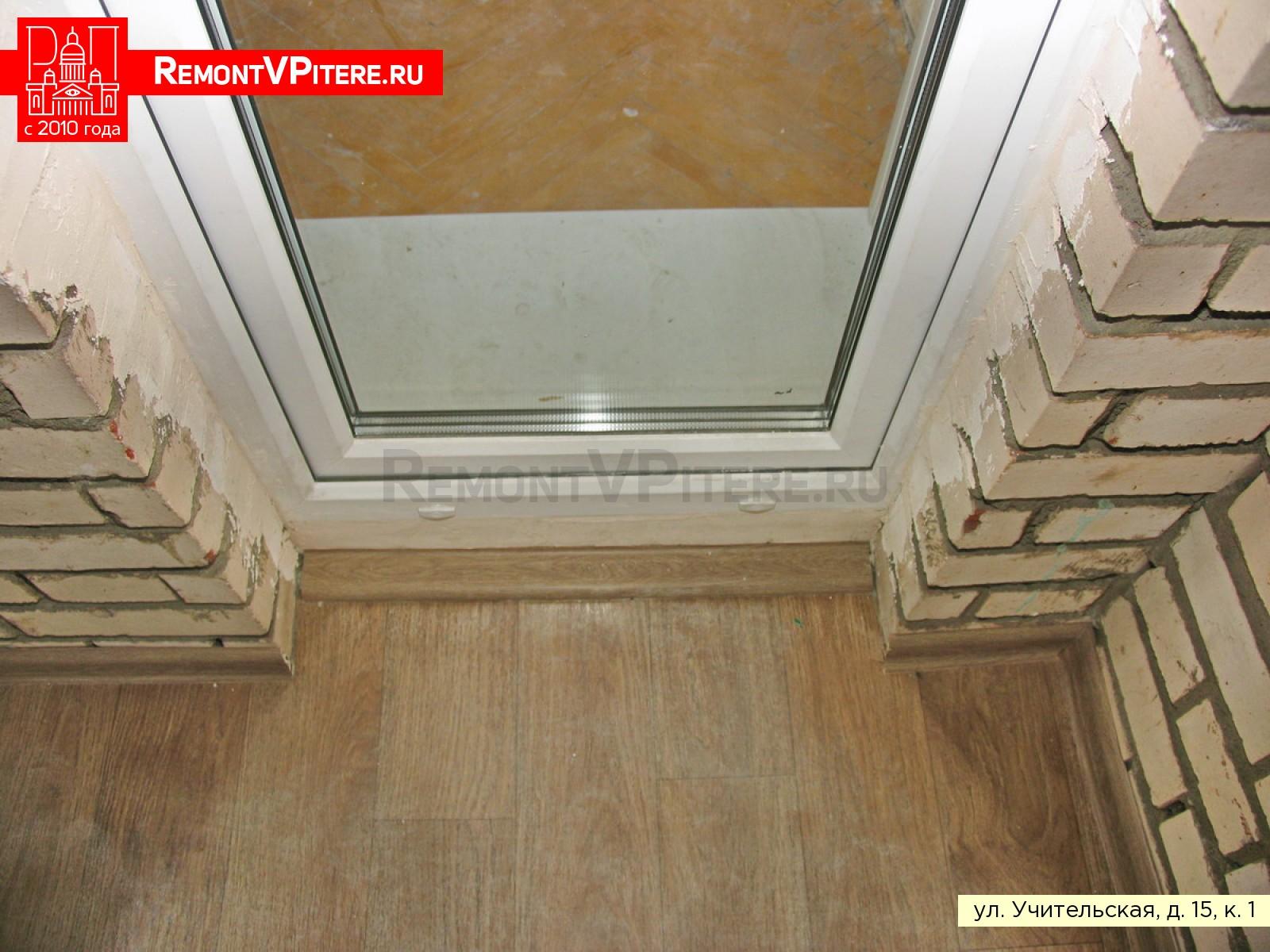 Балконная дверь в доме 1-528КП-80