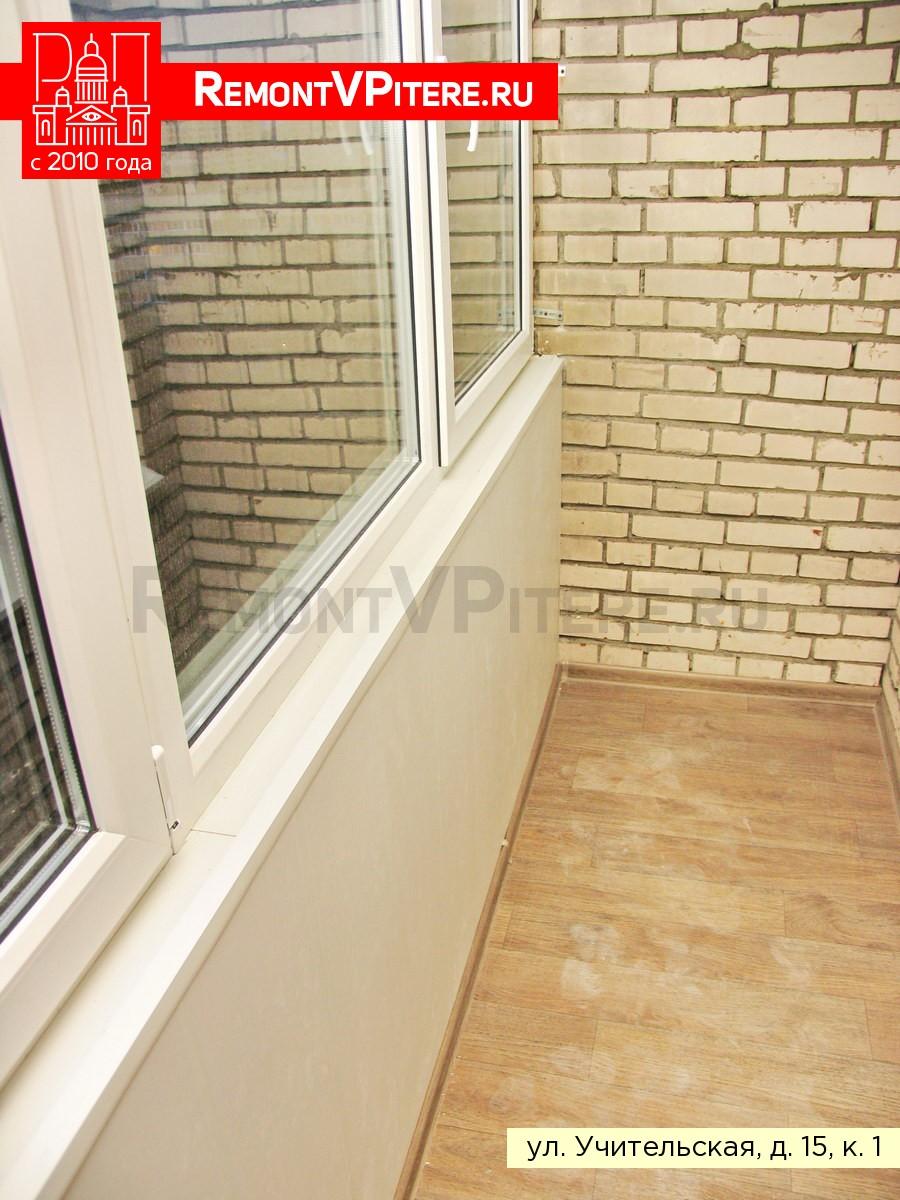 Отделка перил в доме 1-528КП-80