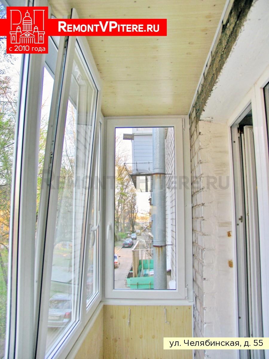Откидное окно на балконе