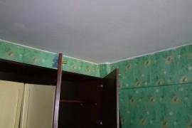 Комната после протечки