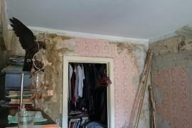 Состояние комнаты до ремонта