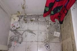 Ванная после сдачи в аренду квартиры