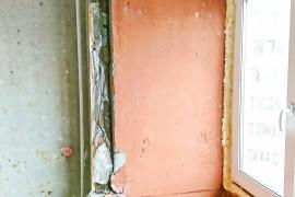 Проем балконного блока без окна