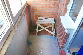 Балкон без отделки