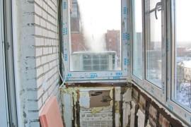 Самопальное утепление балкона