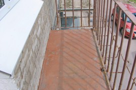 Балкон в хрущевке до ремонта