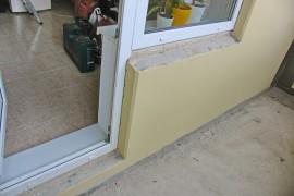 Порожек на балкон от застройщика