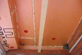 Пеноплекс на потолке