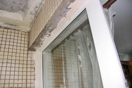 откосы на балконе предстоит делать