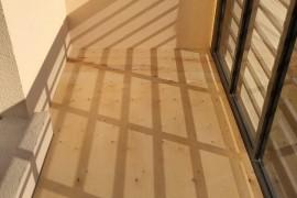 Пол на балконе из фанеры
