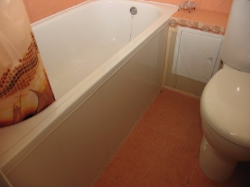 Установка экрана на стальную ванную