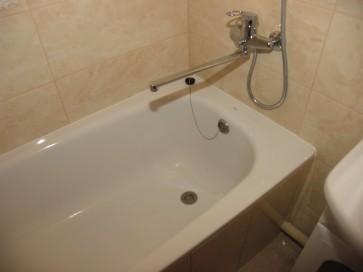 Металлическая ванна