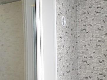Откосы и подоконник на окне лоджии