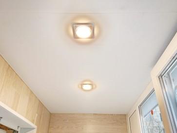 Встроенные светильники в потолок