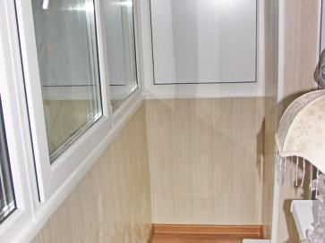 Балкон без подоконника